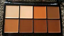 Makeup revolution pro hd cream contour palette medium dark concealer palette