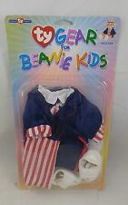 NEW TY Gear - UNCLE SAM - Clothes for TY Beanie Kids (LL3)
