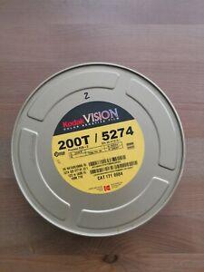Kodak Vision 5274 200T 35mm color negative film-122m 400ft sealed can