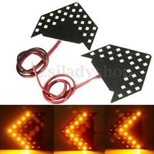 Amber SMD 27 LED Arrow Sequential Flash Side Rear View Mirror Turn Signal Light
