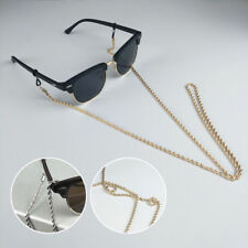 Glasses Neck Chain Cord Lanyard Gold Silver Retainer Spectacles Sunglasses Gift