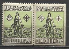 3597--SELLOS FISCALES  REPUBLICA COLEGIO HUERFANOS VETERINARIOS NUEVO ** 1 PTAS