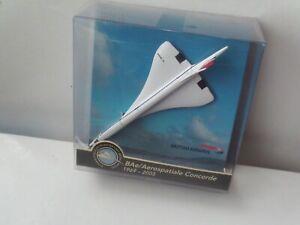 Corgi Marks & Spencer BAe/Aerospatiale Concorde Model 1969-2003 New In Box