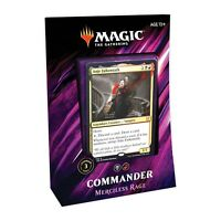 ***Merciless Rage*** Commander 2019 Sealed Deck, Anje Falkenrath C19 Magic Cards