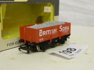 Wrenn 5 Plank Open Wagon British Soda & Load 14 Box W5069