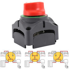 PURE NEW Dual Battery Selector Switch for Marine Boat Rv Vehicles USA