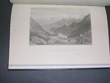 alpes peinture W. Brockedon peintre à travers les Alpes 1824 Ed.Fournel 2005