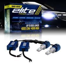 H1 with Authentic LED Headlight Bulb Conversion Kit Hi Power 6000K