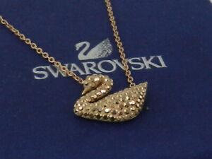 SWAROVSKI ICONIC SWAN PENDANT Rose Gold  PLATED 5368988