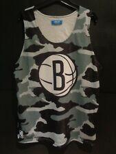 More details for adidas nba brooklyn nets sleeveless shirt top urban camo