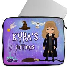 Laptop Cover HARRY Wizard Sleeve Personalised Universal Case Gift KS158