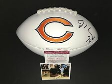 Jordan Howard Chicago Bears Autographed Signed LOGO Football JSA Witness COA A