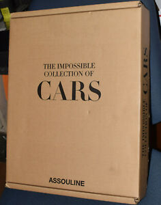 ASSOULINE THE IMPOSSIBLE COLLECTION OF CARS ART PHOTOGRAPHS BOOK