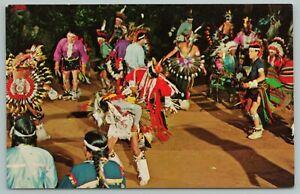 Wisconsin Dells~Indian War Dance~Stand Rock Indian Ceremonial~Vintage Postcard