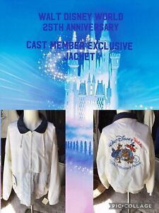 Walt Disney World Cast Member Exclusive 25Th Anniversary Jacket Size Medium