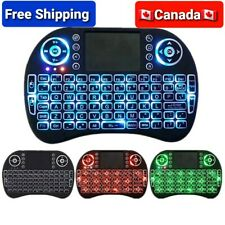Rechargeable Mini Wireless Remote i8 Keyboard 2.4ghz