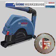 BOSCH Absaughaube GDE 230 FC-T Professional für Winkelschleifer+ Diamantscheibe
