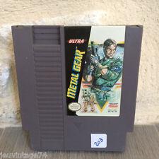Metal Gear Solid 1 Nes US Nintendo en loose NES-ME-USA NTSC Tested
