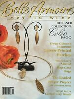 stampington BELLE ARMOIRE jewelry, May/Jun 2005 96 pages! somerset studio prayer