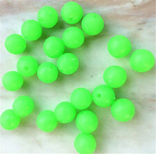 30Pcs10mm Round soft Glow Rig Beads Sea Fishing Lure Floating Float Tackles