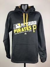 Men's Majestic Therma Base Pittsburgh Pirates MLB Baseball Dugout Sweatshirt M