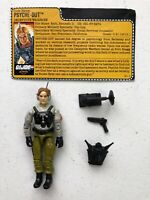 GI Joe 1988 Psyche-Out v2 Deceptive Warfare Action Figure Near Complete with FC