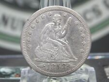 "1853 ""P"" Seated Liberty Quarter 25c ""Arrows & Rays"" #5  ECC&C, Inc."