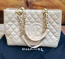 CHANEL GRAND SHOPPING TOTE BEIGE WITH O.R