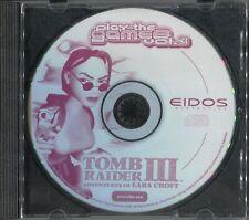Tomb Raider III: Adventures of Lara Croft !! tolles Game für PC !!