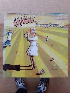 "Genesis Nursery Cryme 12"" Vinyl LP Gatefold Sleeve Re-Issue"