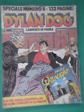 Fumetto Dylan Dog  Speciale N.8 LABIRINTI DI PAURA con Albetto Ottobre 1994 /SP/