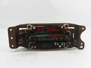1988 - 1991 Ford E150 Van Climate AC Heat Switch Temperature Control