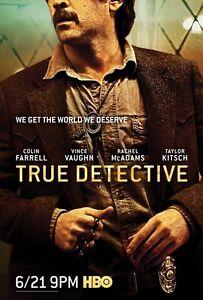 POSTER TRUE DETECTIVE 2 COLIN FARRELL RACHEL MCADAMS VINCE VAUGHN SERIE TV #4