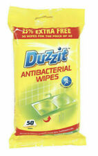 Duzzit Household Surface Cleaning Wipes ( Pack of 50 Wipes )
