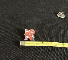 """Olympics London """"2012"""" In Team GB Colours Vintage Pin Badge"""