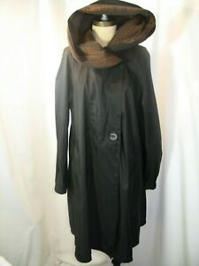 MYCRA PAC Now Reversible Hooded Nylon Rain Coat Size XS