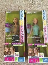 MARY-KATE AND ASHLEY DOLLS Year of Celebrations: Senior Year Mattel 2003 NRFB