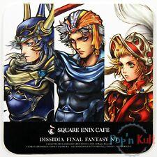 Dissidia Final Fantasy Warrior Firion Onion Knight Coaster Square Enix Cafe VGC