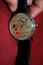 Vintage 1972 Summit Series Team Canada USSR Russian Souvenir Hockey Watch!