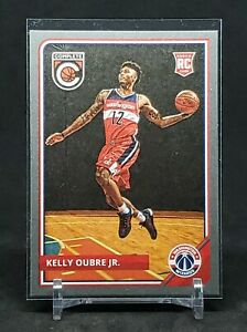 2015-16 Panini Complete Kelly Oubre RC, Silver Parallel, Wizards / Warriors