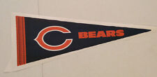 """Chicago Bears FATHEAD Official Team Pennant 23"""" x 8"""" Wall Graphics Decal Logo"""