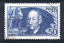 """FRANCE STAMP TIMBRE YVERT 398 """" CLEMENT ADER 50F OUTREMER """" OBLITERE TB  R862"""