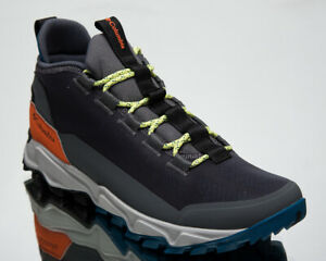 Columbia Flow Borough Low Men's Grey Orange Athletic Lifestyle Sneakers Shoes
