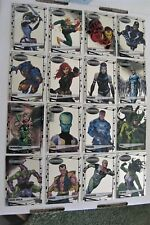 2015 Marvel Vibranium 90 Card Set and 3 D Marvel Set for Dany in Belgium