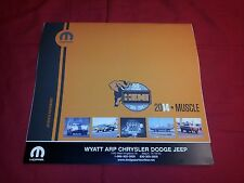 2014 Mopar Muscle Car Calendar - Dodge, Plymouth, Charger, Challenger, Hemi