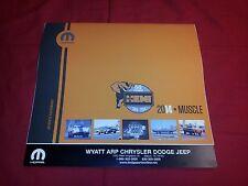 2014 Mopar Muscle Car Calendar - Dodge, Plymouth, Charger, Challenger, Hemi