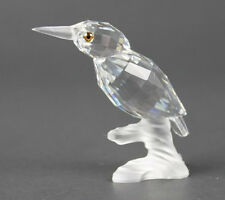 SWAROVSKI CRYSTAL KINGFISHER BIRD UP IN THE TREES 7621 000 001 New in container