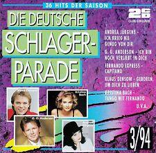 DIE DEUTSCHE SCHLAGERPARADE 3/94 / 2 CD-SET - TOP-ZUSTAND