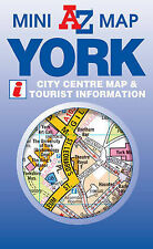 York Mini Map by Geographers' A-Z Map Company (Sheet map, folded, 2011)