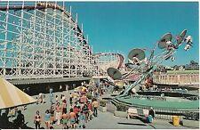 Amusements at Santa Cruz Beach Santa Cruz Ca Postcard Amusement Park